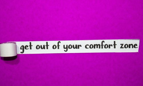 """""""Get out of your comfort zone""""の話"""