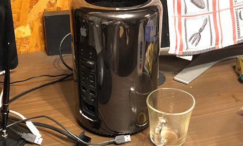 【人生初】Mac Pro Late2013にコーヒーをこぼして水没させた話