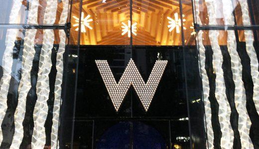 日本初のWホテル「W大阪」に宿泊してみた話