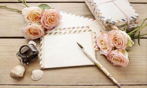 こんな時代だからこそペンを持って手紙を書くと、書いた方ももらった方も心がハッピーになる話